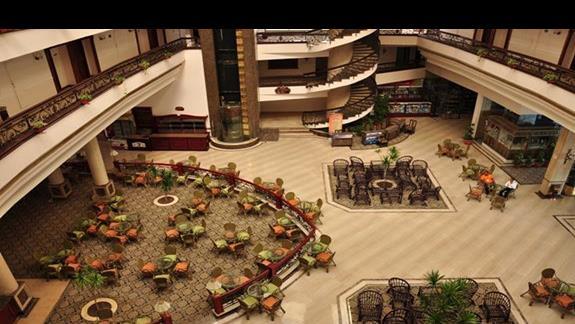 hall w hotelu Titanic Resort&Aquapark