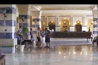 Hotel Sentido Mamlouk Palace Resort & Spa - recepcja w hotelu Sentido Sunrise Mamlouk Palace