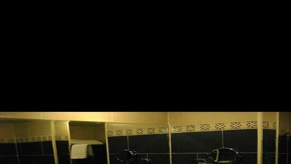 łazienka w pokoju standardowym w hotelu Sentido Sunrise Mamlouk Palace