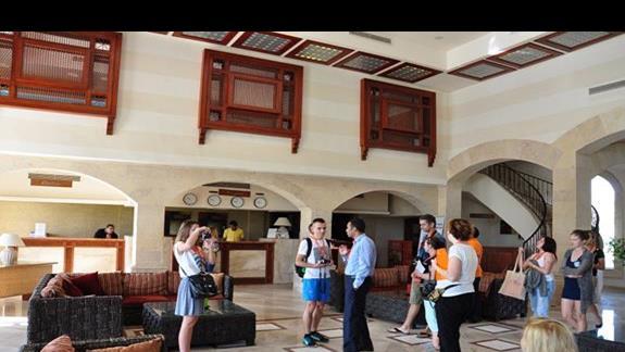 hall i recepcja w hotelu Lotus Bay Resort&Spa