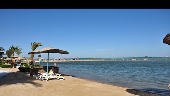 plaża w hotelu Movenpick Resort Spa El Gouna