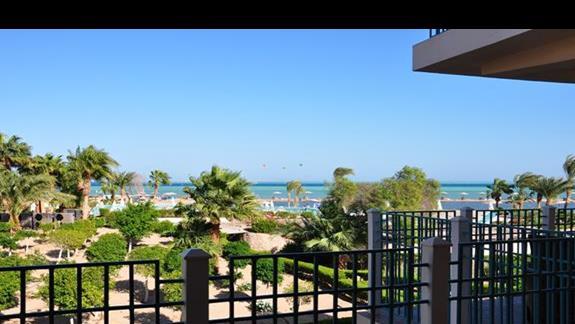 widok z pokoju w hotelu Movenpick Resort Spa El Gouna