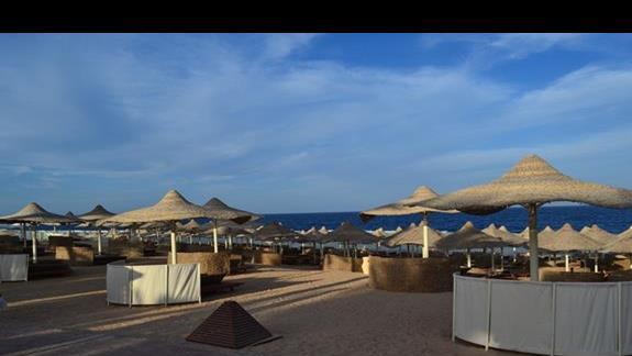 plaża w hotelu Serenity Makadi Beach.j
