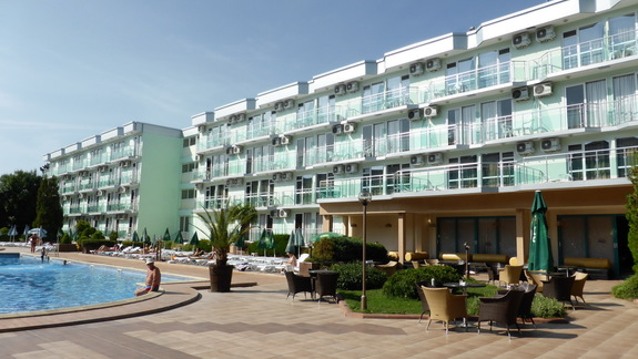 Teren hotelu Kotva
