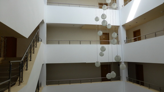 Lobby w hotelu Kotva