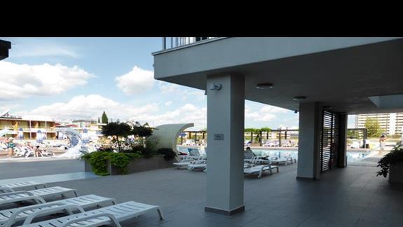 Teren hotelu Burgas Beach