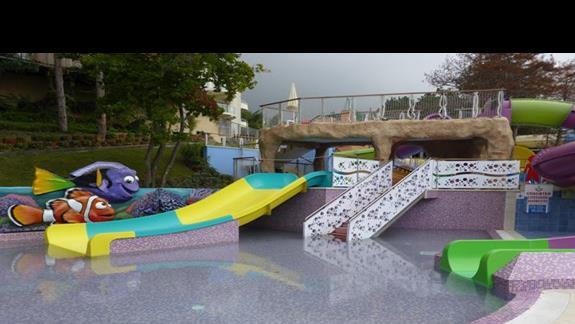 Aquapark w hotelu Grifild Bolero