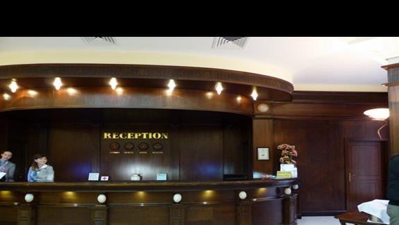 Recepcja w hotelu Grifild Bolero