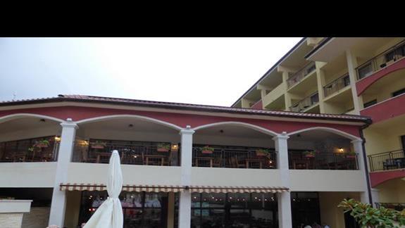 Restauracja w hotelu Grifild Bolero