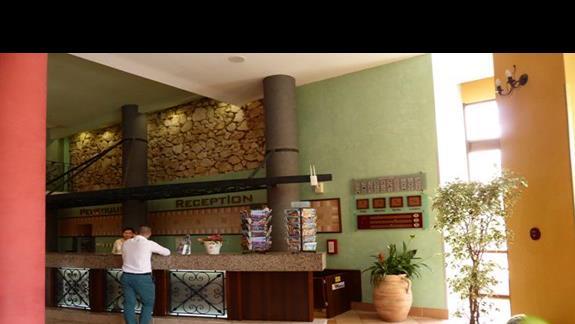 Recepcja w hotelu Hrizantema