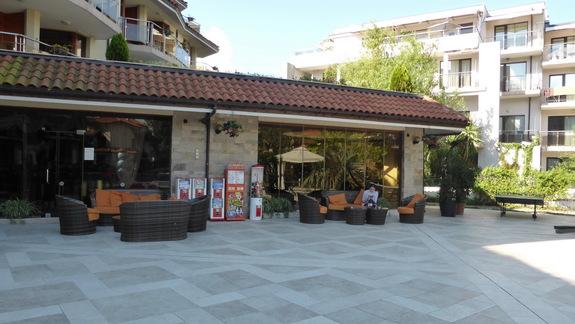 Teren hotelu Laguna Beach