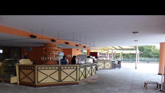 Teren hotelu Astera
