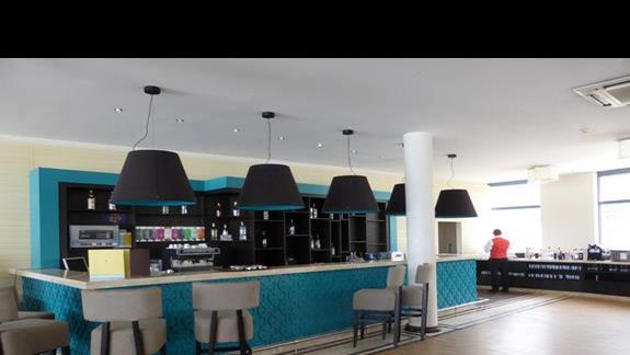 Lobby w hotelu Azalia
