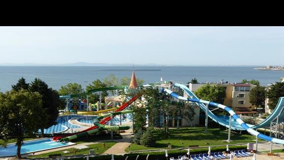 Aquapark  w hotelu Sol Nessebar Bay Mare