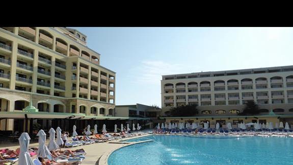 Basen  w hotelu Sol Nessebar Bay Mare