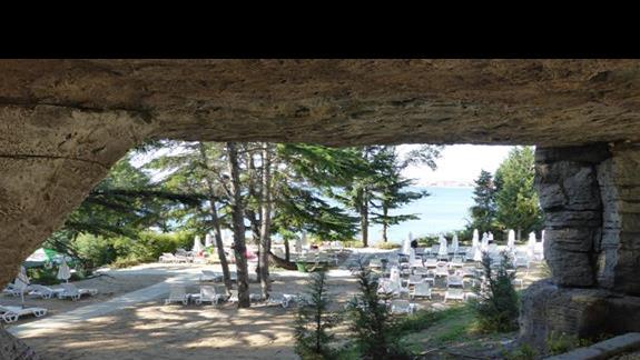 Teren  hotelu Sol Nessebar Bay Mare