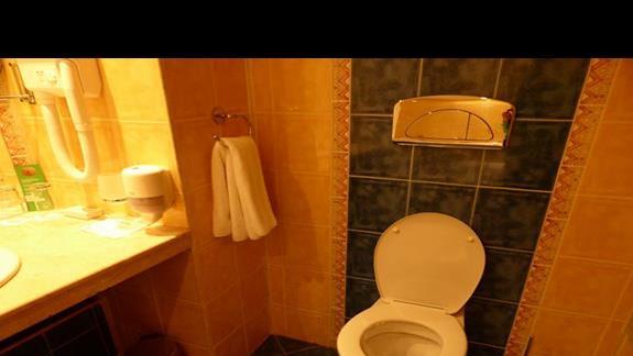 Łazienka  w hotelu Sol Nessebar Bay Mare