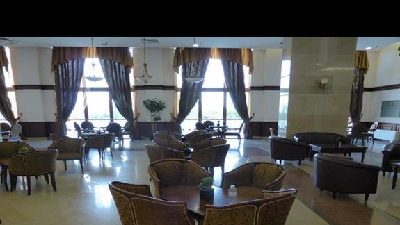 Lobby w hotelu Melia Grand Hermitage