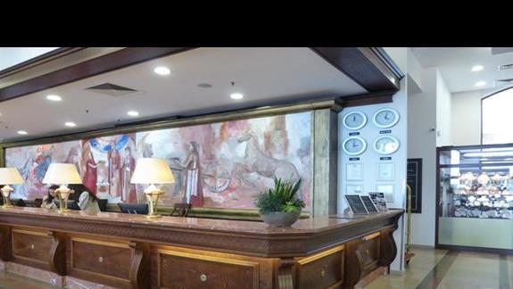 Recepcja w hotelu Melia Grand Hermitage