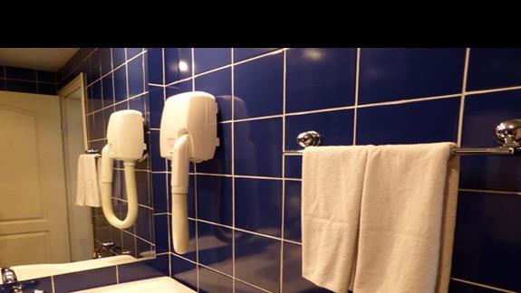 Łazienka w hotelu Lilia