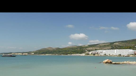 Widok na morze w hotelu Royal Bay