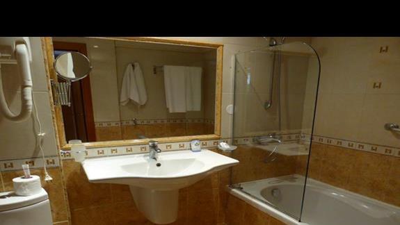 Łazienka w hotelu Villa List