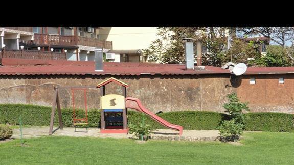 Plac zabaw w hotelu Villa List