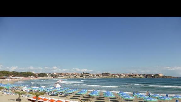 Plaża przy hotelu Villa List