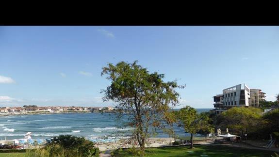Widok z hotelu Villa List