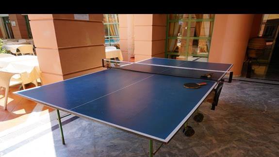 Tenis stołowy w hotelu Samaina Inn