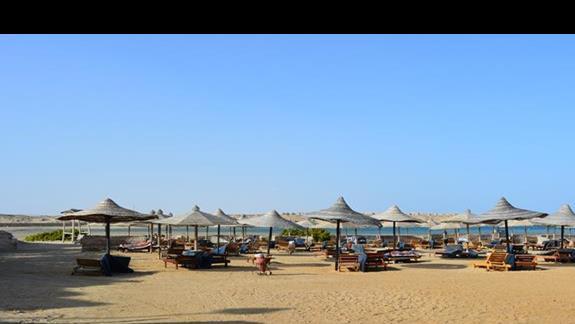 Plaża hotelu Aurora Bay