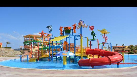 Aquapark hotelu El Malikia Resort Abu Dabbab