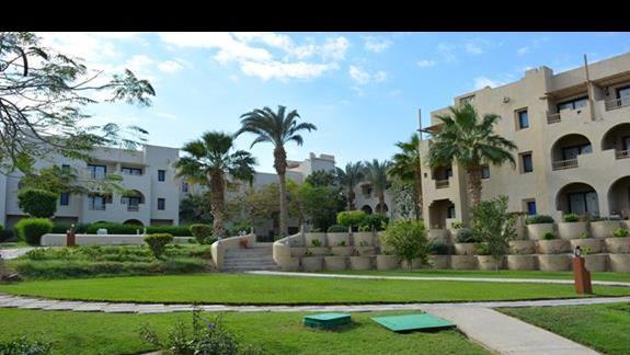 Teren hotelu Marina Lodge