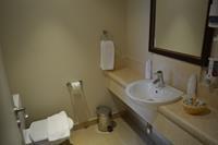 Hotel Sunrise Marina Resort - Łazienka pokoju standardowego hotelu Rehana Port Ghalib