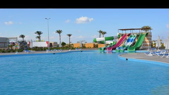 Aquapark hotelu Rehana Port Ghalib