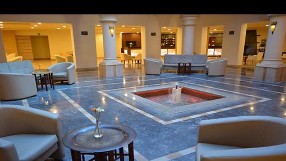 Lobby hotelu Rehana Port Ghalib