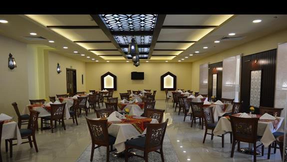 Restauracja hotelu Rehana Port Ghalib