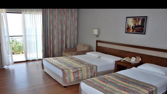 Pokój standardowy w hotelu Lyra Resort