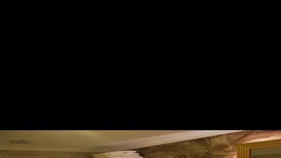 Łazienka w pokoju standardowym w hotelu Mary Palace