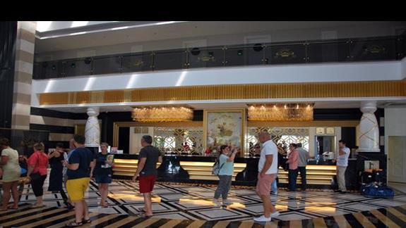 Recepcja w hotelu Mary Palace