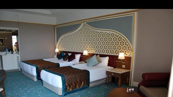 Pokój standardowy cz.1 w hotelu Royal Taj Mahal