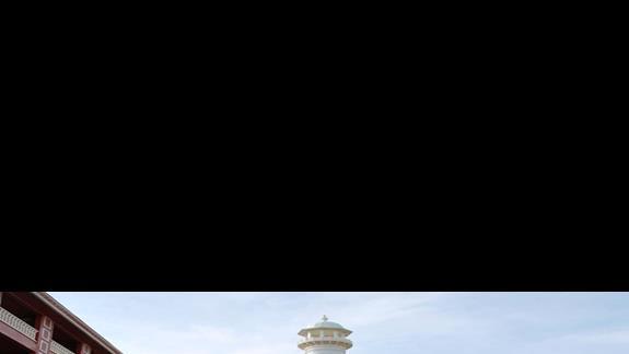 Wejście główne hotelu Royal Taj Mahal