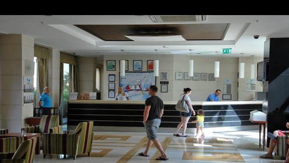 Recepcja hotelowa w ASKA Washington