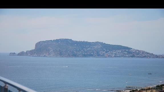 Widok z punktu widokowego na dachu hotelu Diamond Resort & SPA