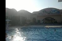 Hotel Ali Baba Palace - basen zimą
