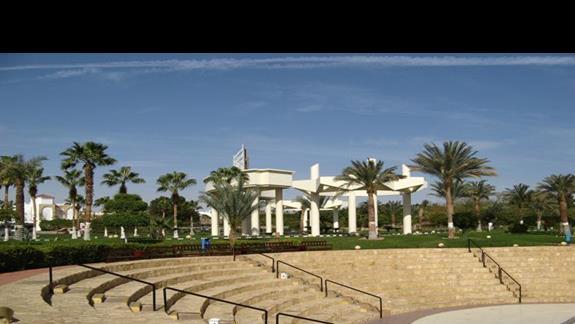 amfiteatr gdzie odbywaly sie wieczorne animacje