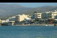 Hersonissos - widok na plaze w Hersonissos