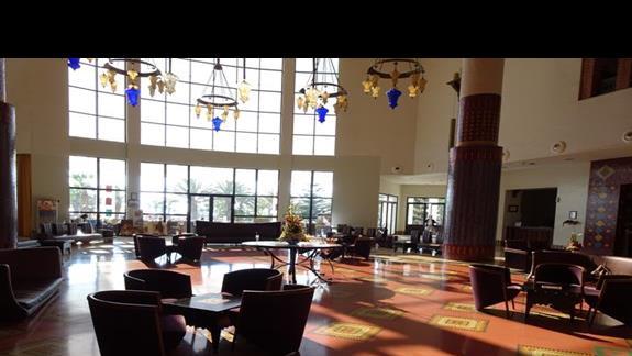 Lobby w hotelu Iberostar Founty Beach