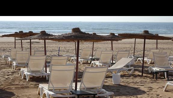 Plaża przy hotelu Iberostar Founty Beach