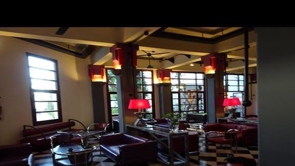 Lobby przy recepcji w hotelu Agador Caribbean Village